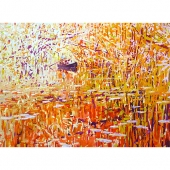JerryVeldhuizen The land is one great wild untidy luxuriant hothouse 110x150cm 3.120